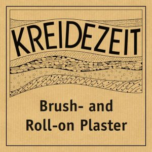 Kreidezeit Brush and Roll-on Plaster label