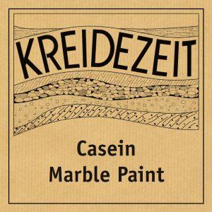 Kreidezeit Casein Marble Paint label