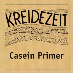 Kreidezeit Casein Primer label