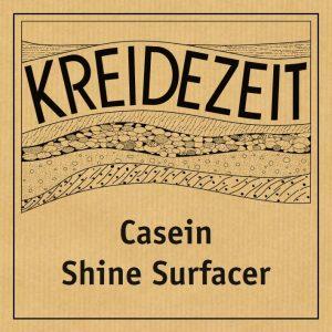 Kreidezeit Casein Shine Surfacer label