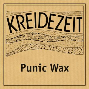 Kreidezeit Punic Wax label