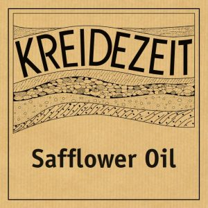 Kreidezeit Safflower Oil label