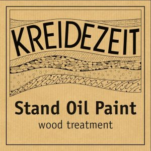 Kreidezeit Stand Oil Paint label