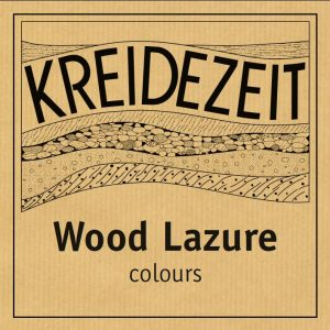 Kreidezeit Wood Lazure - colours label