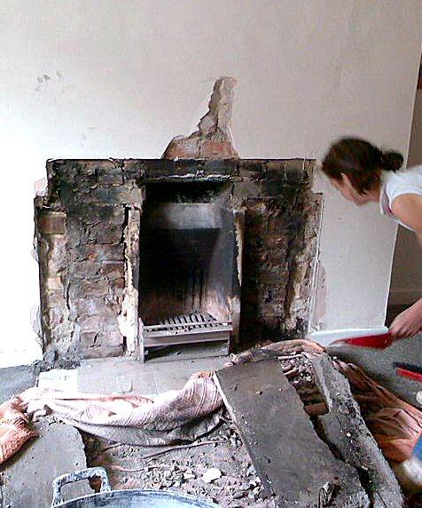 Revealing The Original Inglenook Fireplace Mike Wye
