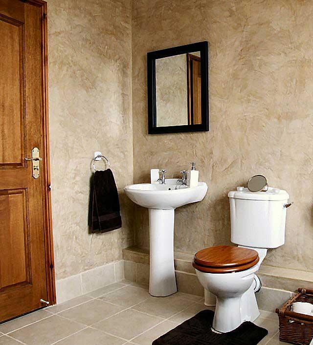 Gallery Venetian Plaster Walls Bathroom - View Full Size .... Ideas For Bathroom Storage - Danieledance - small bathroom