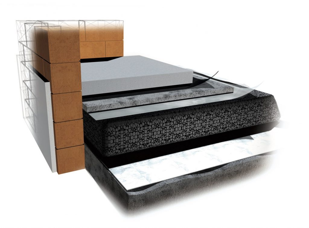 Breathable flooring systems