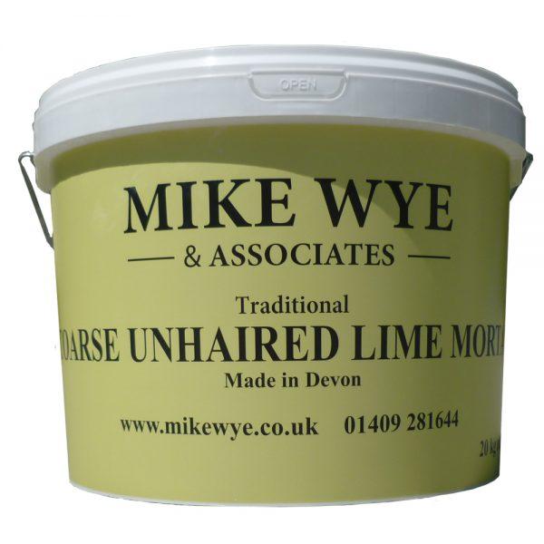 Unhaired Lime Mortar