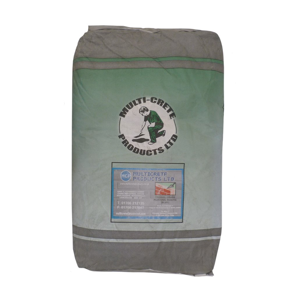 Pointing Mastic Mastic Sand Linseed Joint Mastic