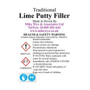 Lime putty filler