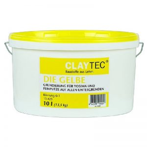 Claytec THE YELLOW Primer (DIE GELBE) - 10 litre
