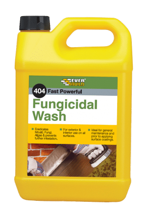 Everbuild fungicidal wash mould and algae wash for Fungal wash for exterior walls